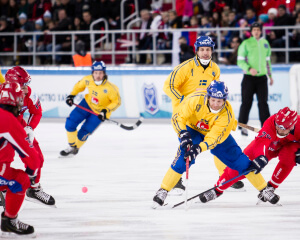 Bandy-VM 2015, final, Sverige - Ryssland