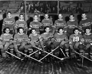 421107 Ishockey, NHL, Montreal Canadiens: Lagbild © BildbyrŒn - Cop 35